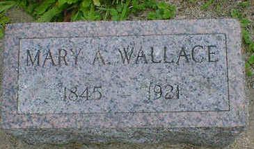 WALLACE, MARY A. - Cerro Gordo County, Iowa | MARY A. WALLACE