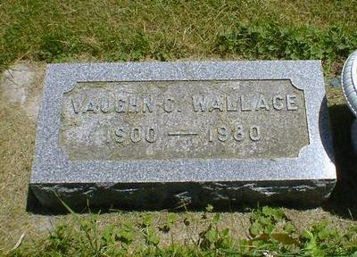 WALLACE, VAUGHN C. - Cerro Gordo County, Iowa | VAUGHN C. WALLACE