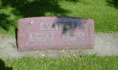WALLS, ROBERT R. - Cerro Gordo County, Iowa | ROBERT R. WALLS