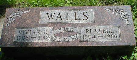 WALLS, VIVIAN E. (DAKER) - Cerro Gordo County, Iowa | VIVIAN E. (DAKER) WALLS