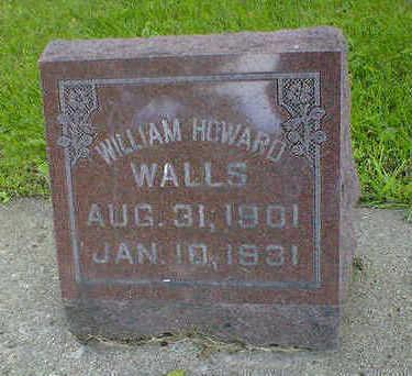 WALLS, WILLIAM HOWARD - Cerro Gordo County, Iowa | WILLIAM HOWARD WALLS