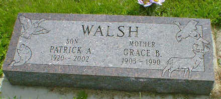 WALSH, GRACE B. - Cerro Gordo County, Iowa | GRACE B. WALSH