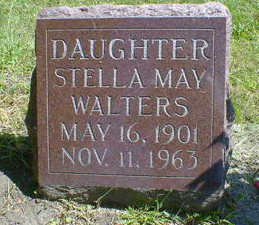 WALTERS, STELLA MAY - Cerro Gordo County, Iowa | STELLA MAY WALTERS