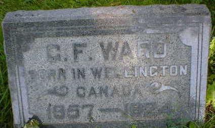 WARD, G.F. - Cerro Gordo County, Iowa | G.F. WARD