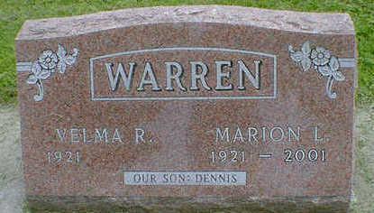 WARREN, MARION L. - Cerro Gordo County, Iowa   MARION L. WARREN