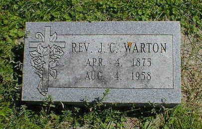 WARTON, J. C. - Cerro Gordo County, Iowa | J. C. WARTON