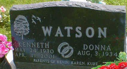 WATSON, KENNETH - Cerro Gordo County, Iowa   KENNETH WATSON