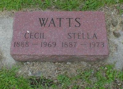 WATTS, CECIL - Cerro Gordo County, Iowa | CECIL WATTS