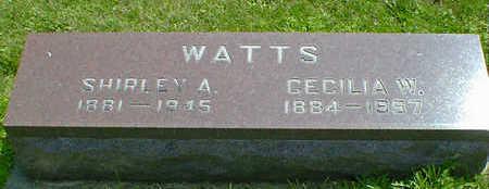 WATTS, SHIRLEY A. - Cerro Gordo County, Iowa | SHIRLEY A. WATTS