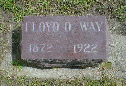 WAY, FLOYD D. - Cerro Gordo County, Iowa | FLOYD D. WAY