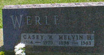 WERLE, MELVIN H. - Cerro Gordo County, Iowa | MELVIN H. WERLE