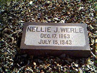 WERLE, NELLIE J. - Cerro Gordo County, Iowa | NELLIE J. WERLE