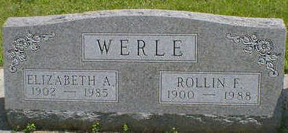 WERLE, ROLLIN F. - Cerro Gordo County, Iowa | ROLLIN F. WERLE