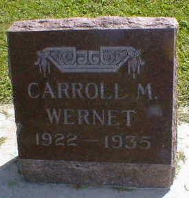 WERNET, CARROLL M. - Cerro Gordo County, Iowa | CARROLL M. WERNET