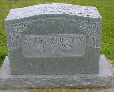 WERSTEIN, ANTON - Cerro Gordo County, Iowa | ANTON WERSTEIN