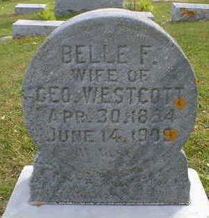 WESCOTT, BELLE F. - Cerro Gordo County, Iowa | BELLE F. WESCOTT