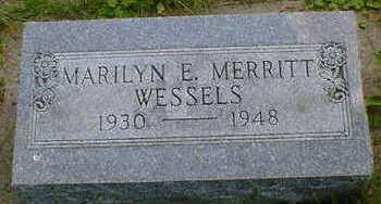 MERRITT WESSELS, MARILYN E. - Cerro Gordo County, Iowa | MARILYN E. MERRITT WESSELS
