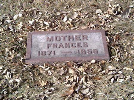 WEST, FRANCES - Cerro Gordo County, Iowa | FRANCES WEST