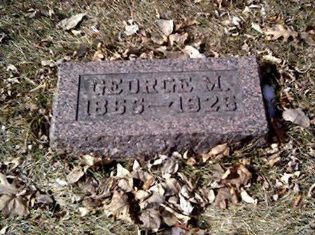 WEST, GEORGE M. - Cerro Gordo County, Iowa | GEORGE M. WEST