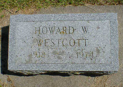 WESTCOTT, HOWARD W. - Cerro Gordo County, Iowa | HOWARD W. WESTCOTT