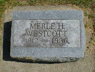 WESTCOTT, MERLE H. - Cerro Gordo County, Iowa | MERLE H. WESTCOTT