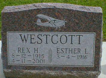 WESTCOTT, REX H. - Cerro Gordo County, Iowa | REX H. WESTCOTT