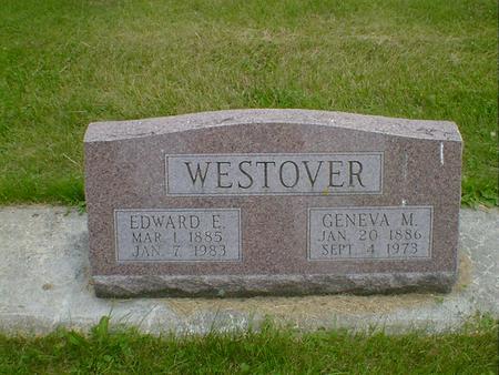 WESTOVER, GENEVA M. - Cerro Gordo County, Iowa | GENEVA M. WESTOVER