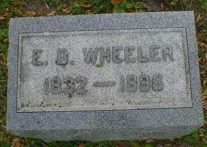 WHEELER, E.B. - Cerro Gordo County, Iowa | E.B. WHEELER