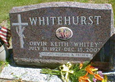 WHITEHURST, ORVIN KEITH - Cerro Gordo County, Iowa   ORVIN KEITH WHITEHURST