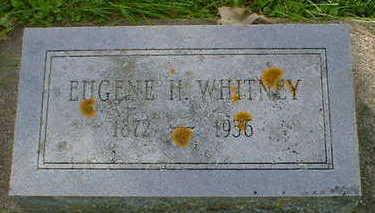 WHITNEY, EUGENE H. - Cerro Gordo County, Iowa   EUGENE H. WHITNEY