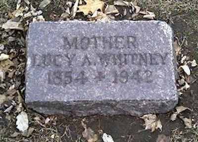 WHITNEY, LUCY - Cerro Gordo County, Iowa | LUCY WHITNEY