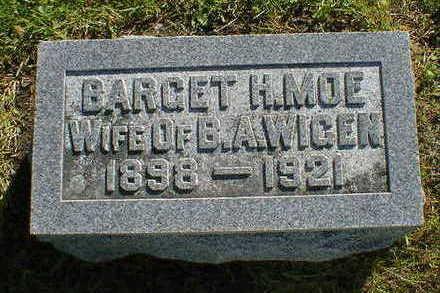MOE WIGEN, BARGET H. - Cerro Gordo County, Iowa | BARGET H. MOE WIGEN