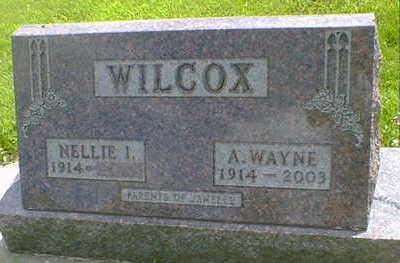 WILCOX, A. WAYNE - Cerro Gordo County, Iowa | A. WAYNE WILCOX