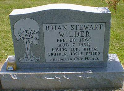WILDER, BRIAN STEWART - Cerro Gordo County, Iowa | BRIAN STEWART WILDER