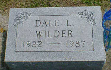 WILDER, DALE L. - Cerro Gordo County, Iowa | DALE L. WILDER
