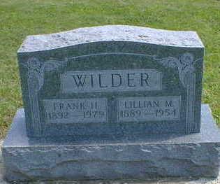 WILDER, LILLIAN M. - Cerro Gordo County, Iowa | LILLIAN M. WILDER