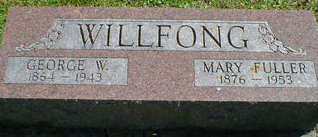 FULLER WILLFONG, MARY - Cerro Gordo County, Iowa | MARY FULLER WILLFONG
