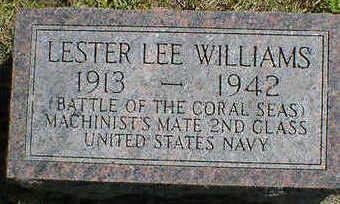 WILLIAMS, LESTER LEE - Cerro Gordo County, Iowa | LESTER LEE WILLIAMS