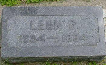 WILLIAMS, LEON G. - Cerro Gordo County, Iowa | LEON G. WILLIAMS