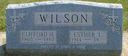 WILSON, CLIFFORD H. - Cerro Gordo County, Iowa | CLIFFORD H. WILSON