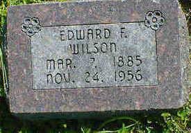 WILSON, EDWARD F. - Cerro Gordo County, Iowa   EDWARD F. WILSON