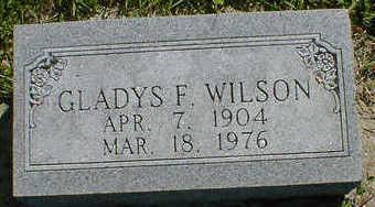 WILSON, GLADYS F. - Cerro Gordo County, Iowa | GLADYS F. WILSON
