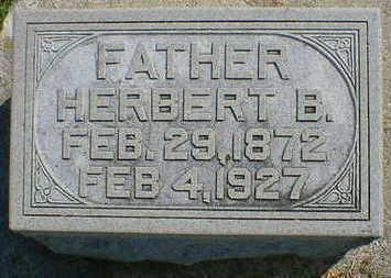 WILSON, HERBERT B. - Cerro Gordo County, Iowa | HERBERT B. WILSON