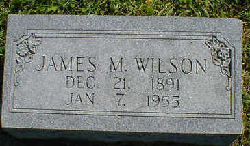 WILSON, JAMES M. - Cerro Gordo County, Iowa | JAMES M. WILSON