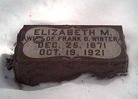 WINTER, ELIZABETH - Cerro Gordo County, Iowa | ELIZABETH WINTER