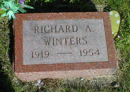 WINTERS, RICHARD A. - Cerro Gordo County, Iowa   RICHARD A. WINTERS