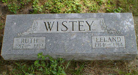 WISTEY, RUTH - Cerro Gordo County, Iowa   RUTH WISTEY