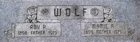 WOLF, MAMIE R. - Cerro Gordo County, Iowa | MAMIE R. WOLF