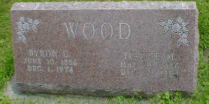 WOOD, MAUDE M. - Cerro Gordo County, Iowa   MAUDE M. WOOD
