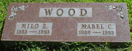 WOOD, MABEL C. - Cerro Gordo County, Iowa | MABEL C. WOOD